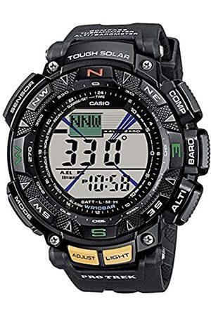 Casio Casio Herren Uhr Digital mit Resinarmband PRG-240-1ER