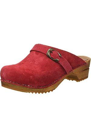Sanita Sanita Damen Hedi Open Clogs, Rot (Red 4)