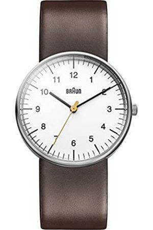 von Braun Braun Unisex Analog Quarz Armbanduhr BN0021WHBRG