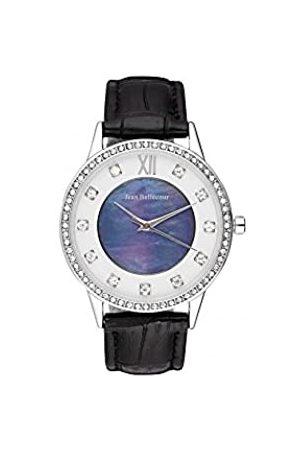 Jean Bellecour Jean Bellecour Unisex Analog Quarz Uhr mit Leder Armband REDK3