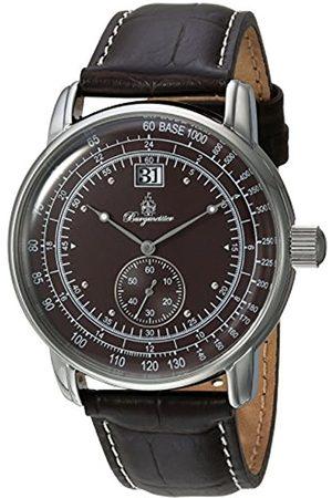 Burgmeister Burgmeister Herren Analog Quarz Uhr mit Leder Armband BM333-195