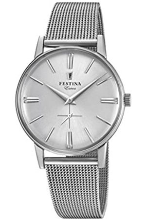 Festina Festina Herren Analog Quarz Uhr mit Edelstahl Armband F20252/1