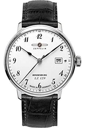 Zeppelin Zeppelin Herren-Armbanduhr XL LZ 129 Hindenburg Analog Quarz Leder 70461