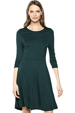 Lark & Ro Lark & Ro 3/4 Sleeve Knit Fit and Flare Dress Kleid