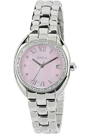 Breil Armbanduhr BREIL Frau CLARIDGE quadrante rosa e uhrarmband in Stahl