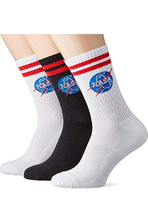 Mister Tee Herren NASA Insignia 3-Pack Socken