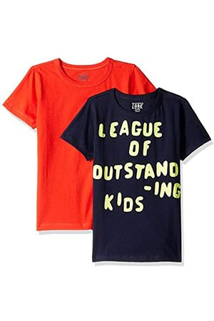 LOOK by crewcuts LOOK by crewcuts Jungen T-Shirts, Kurzarm, 2er-Pack, unifarben/bedruckt