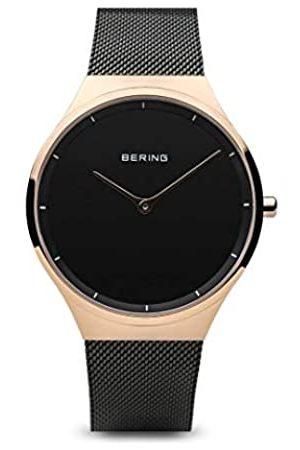 Bering BERING Unisex Erwachsene Analog Quarz Uhr mit Edelstahl Armband 12138-162
