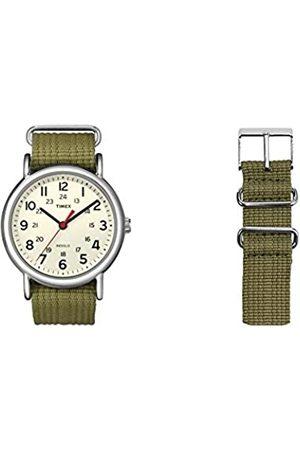 Timex TimexUnisex-ArmbanduhrAnalogQuarzmitArmband(grün)