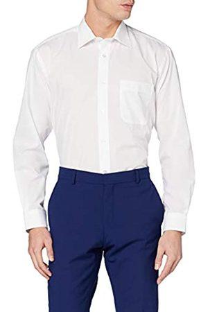 Kustom Herren Regular Fit Businesshemd Kk104 (White WTE)
