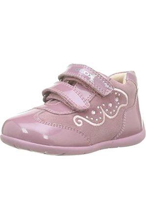 Geox Baby Mädchen B Kaytan A Sneaker, Pink (Dk Pink C8006)