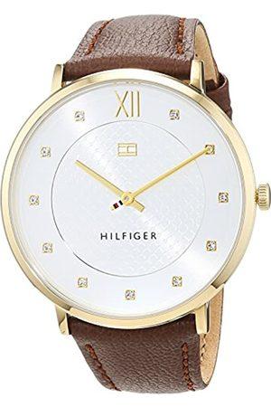 Tommy Hilfiger Tommy Hilfiger Herren Datum klassisch Automatik Uhr mit Leder Armband 1781809