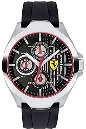 Scuderia Ferrari Scuderia Ferrari Unisex Multi Zifferblatt Quarz Uhr mit Silikon Armband 830510