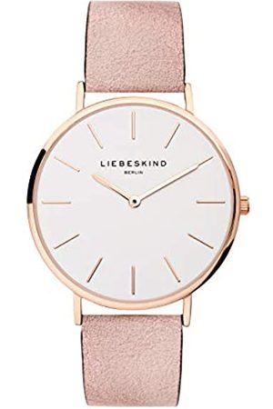liebeskind LIEBESKIND BERLIN Unisex Erwachsene Analog Quarz Uhr mit Leder Armband LT-0157-LQ