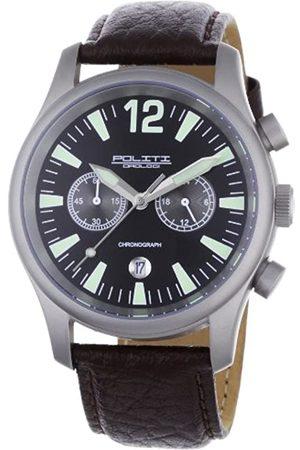 POLITI OROLOGI POLITI OROLOGI Herren Armbanduhr Chronograph OR3901-brown