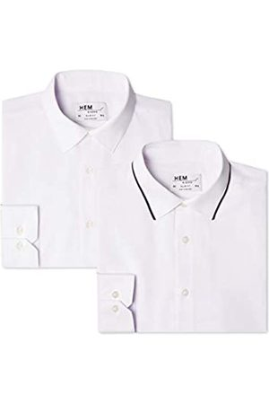 FIND Herren Businesshemd 2 Pack Slim Shirt