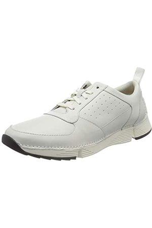 Clarks Clarks Herren Tri Sprint Sneaker, Weiß (White Leather White Leather)