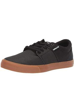 Supra Supra Unisex-Erwachsene Stacks Vulc II Sneaker, Schwarz (Black Tuf/Lt Gum 024)