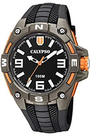 Calypso watches Calypso Watches Herren Analog Quarz Uhr mit Plastik Armband K5761/4
