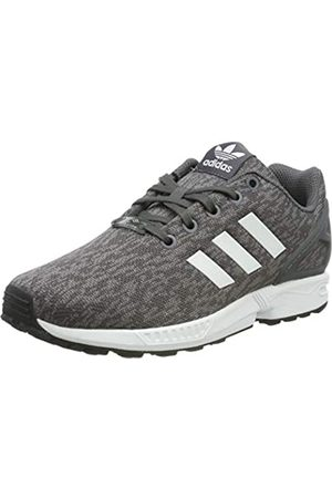 adidas Adidas Unisex-Kinder Zx Flux J Fitnessschuhe, Grau (Gricin / Ftwbla / Ftwbla)