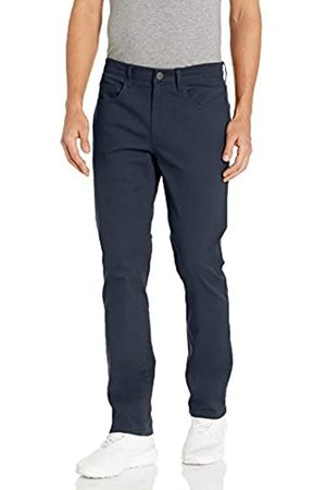 Peak Velocity Amazon-Marke: Aktive Chinohose mit hohem Baumwollanteil athletic-pants, Navy