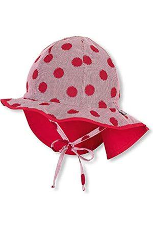 Sterntaler Flapper für Mädchen mit Bindebändern, Nackenschutz und Punktemuster, Alter: 12-18 Monate