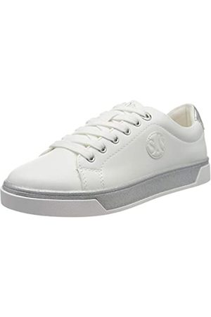 s.Oliver S.Oliver Damen 5-5-23637-24 Sneaker, Weiß (White 100)