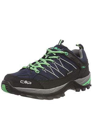CMP Damen Rigel Low Wmn Shoes Wp Trekking- & Wanderhalbschuhe, (Asphalt-Ice Mint 64bn)