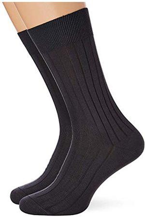 Dim Herren Mi-chaussette Cotes Fines Fil D'ecosse X2 Socken