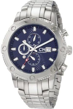Carlo Monti Carlo Monti Herren-Armbanduhr Stahl/blau/Stahl CM100-131