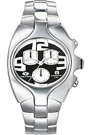 Time Force TIMEFORCEHerrenChronographQuarzUhrmitEdelstahlArmbandTF2640M-04M-1