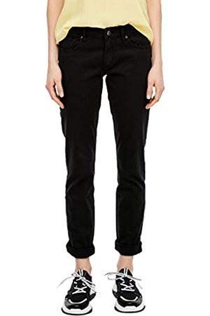 s.Oliver Q/S designed by Damen Slim Fit: Weiße Slim Leg-Jeans 44.30