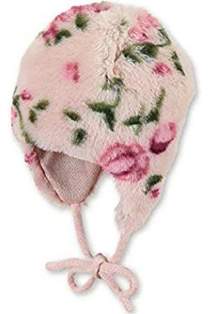 Sterntaler Sterntaler Inka-Mütze für Mädchen mit Blumen-Motiv, Alter: 18-24 Monate, Größe: 51