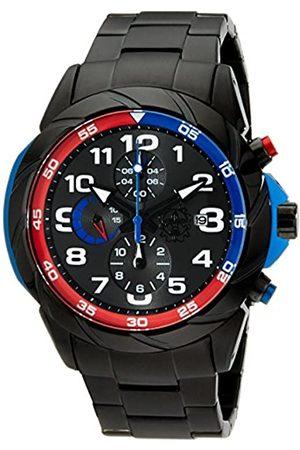 Burgmeister Burgmeister Armbanduhr für Herren mit Analog-Anzeige, Quarz-Uhr mit Edelstahl Armband - wasserdichte Herrenarmbanduhr mit zeitlosem