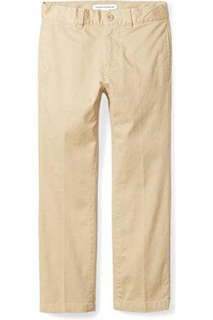 Amazon Jungen Uniform Straight-Fit Flat-Front Chino Pants