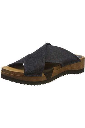 Sanita Sanita Damen Tilka Sport Flex Sandale Pantoletten, Blau (Navy 29)