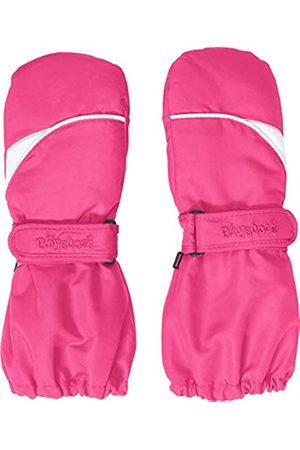 Playshoes Playshoes Kinder Fäustlinge mit Thinsulate-Technik und und langem Schaft warme Winter-Handschuhe mit Klettverschluss, pink