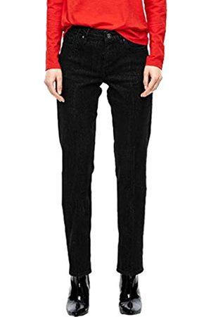 s.Oliver S.Oliver RED LABEL Damen Smart Straight: Glamour Denim black 40.32