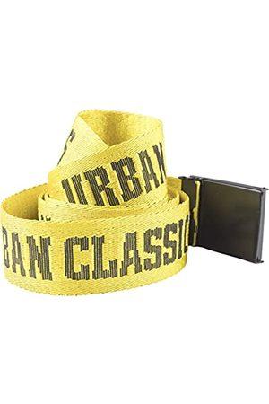Urban classics Herren Jaquard Logo Belt Gürtel