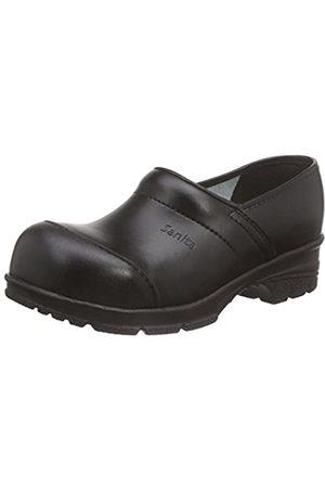Sanita Sanita Workwear Unisex-Erwachsene San-Duty Closed Clogs, Schwarz (Black 2)