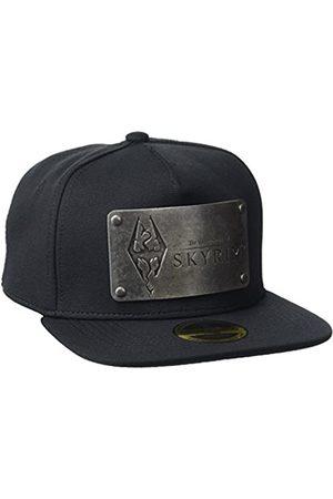 Meroncourt Unisex The Elder Scrolls Skyrim Dovakiin Metal Logo Plate Snapback Baseballkappe