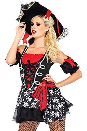 Leg Avenue LEG AVENUE 85209 - Buccaneer Babe Kostüm Set, 2-teilig, Größe M/L