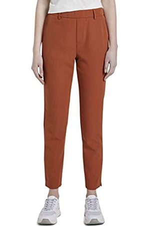 TOM TAILOR TOM TAILOR DENIM Damen Zigaretten Hose, 19759-fox orange