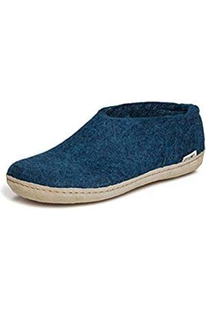 glerups dk Glerups dk A Shoes Unisex - Erwachsene Filz-Hausschuh, Damen,Herren Huettenschuhe,Filz-Schuhe,Filz-Pantoffel,Pantoletten,Puschen Blau