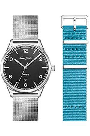 Thomas Sabo THOMAS SABO Unisex Code TS Uhr und Armband Edelstahl Milanaisearmband LOOK19_02_009