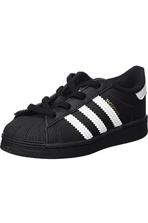 adidas Adidas Unisex-Kinder Superstar EL I Gymnastikschuh, Core Schwarz/FTWR Weiß/Core Schwarz