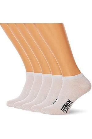 Urban classics Herren Logo No Show Socks 5-Pack Füßlinge