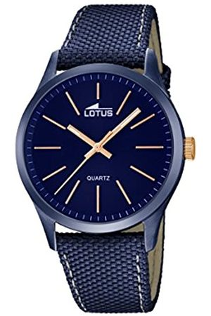Lotus Lotus Herren Analoger Quarz Uhr mit Echtes Leder Armband 18166/2