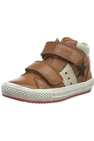 Bisgaard Jungen Jacob Hohe Sneaker, (Cognac 502)