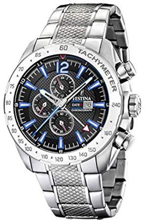 Festina Festina Herren Chronograph Quarz Uhr mit Edelstahl Armband F20439/5